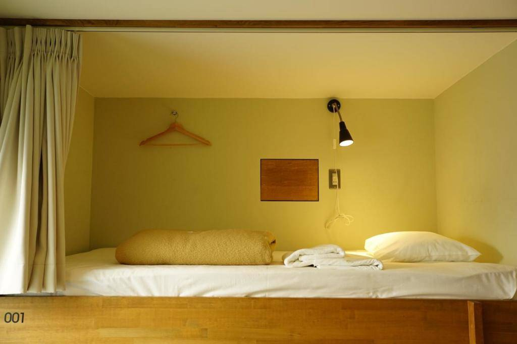 下东九青年旅馆 8 Mixed Dormitory D - Single Bed, Shared Bathroom
