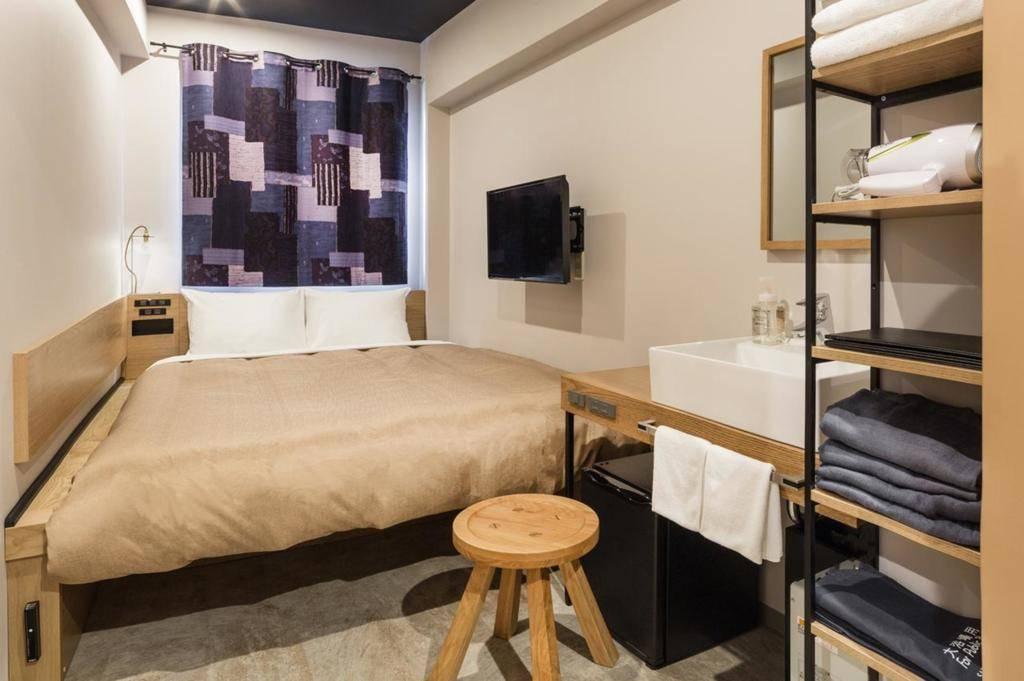 樱花台画室酒店 small double room with shared bathroom