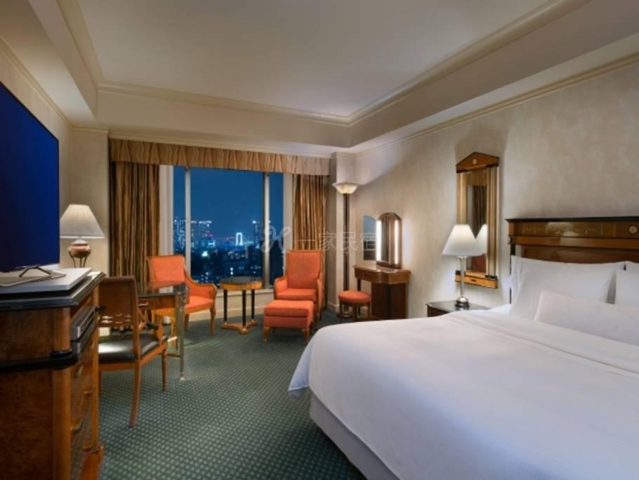 东京威斯汀饭店豪华大床房实现高品质的住宿,东京威斯汀饭店的Relux方案,附早餐(变动价格)