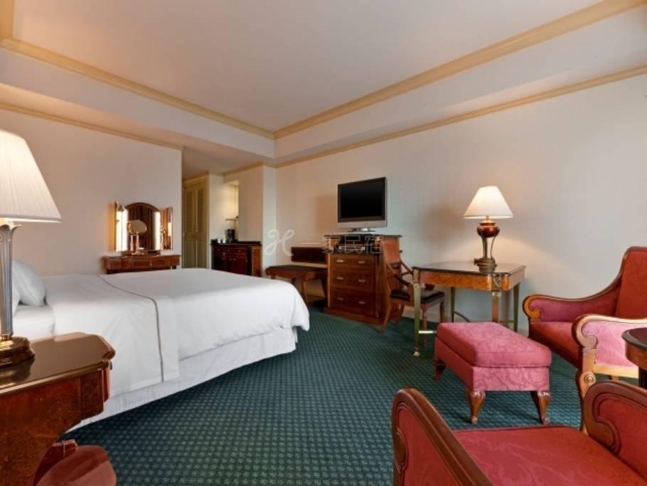 东京威斯汀饭店传统大床房实现高品质的住宿,东京威斯汀饭店的Relux方案(变动价格)