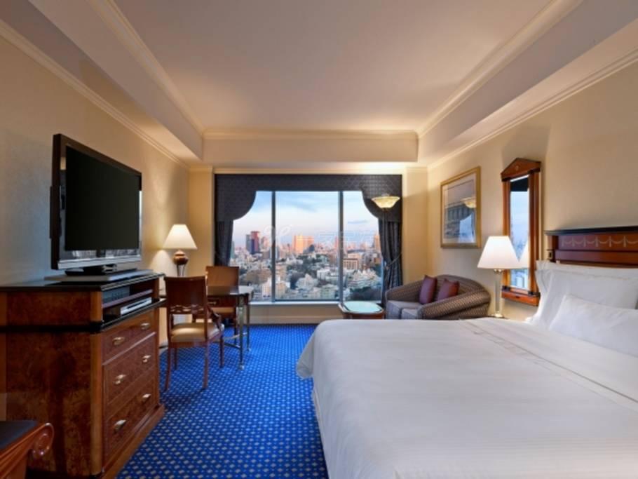 东京威斯汀饭店东侧景观行政大床房实现高品质的住宿,东京威斯汀饭店的Relux方案(变动价格)