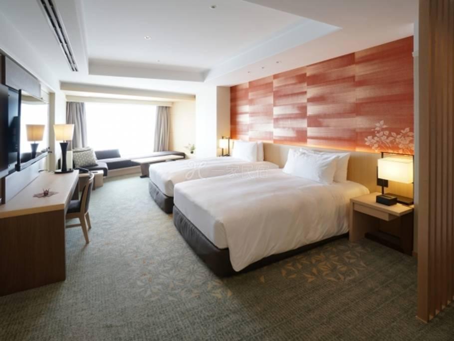 东京雅叙园饭店奢华客房Luxury Room最佳房费【附早餐・通行行政贵宾室】