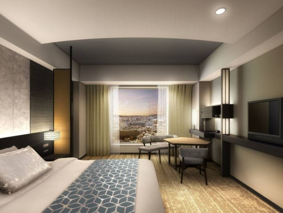 京都格兰比亚大酒店高级大床房Superior Double最优惠房价Best Rate ☆