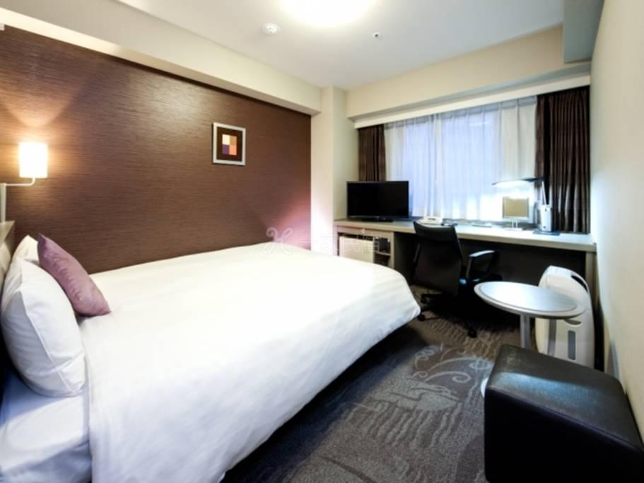 东京大崎大和鲁内饭店标准单人房Standard Single room 吸烟在「iL-CHIANTI 」享用早餐!附和洋自助餐