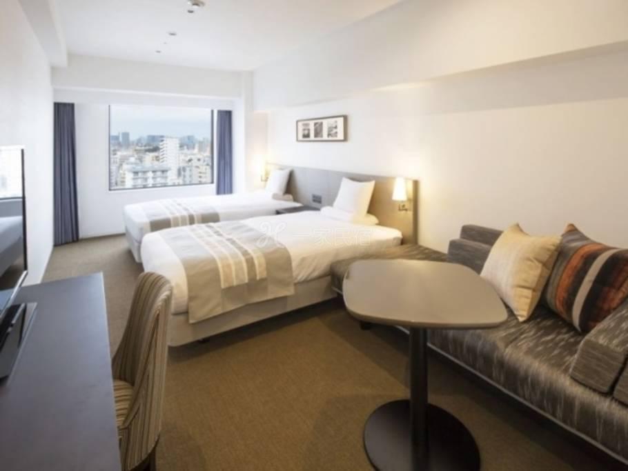 Hotel MyStays Premier 大森【禁烟】高级双床房 Superior Twin【早鸟28】提前预约可享特别优惠