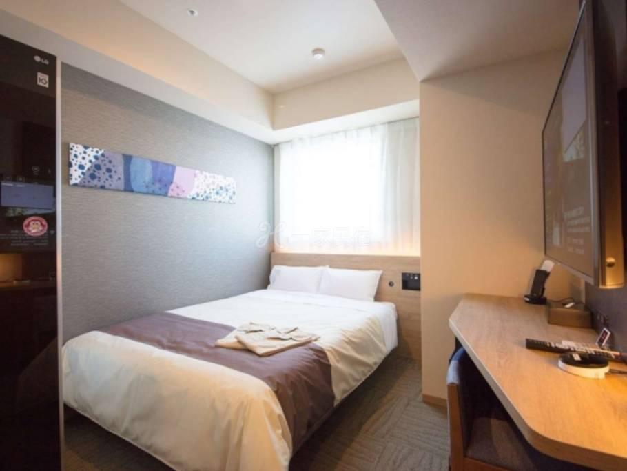 东京西葛西海茵娜酒店标准双人床Standard Double Room舞滨站免费接送■花粉对策!全客房备有机器人清净机■东京西