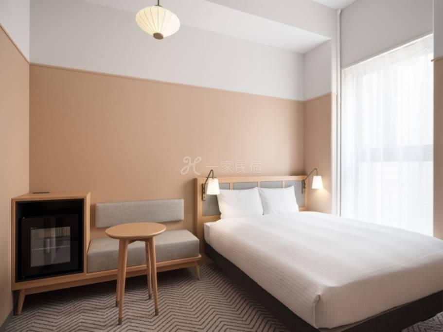 RAKURO京都- THE SHARE酒店-标准大床房Standard Duoble/最多入住2名客人/19㎡◆1名利用◆「标