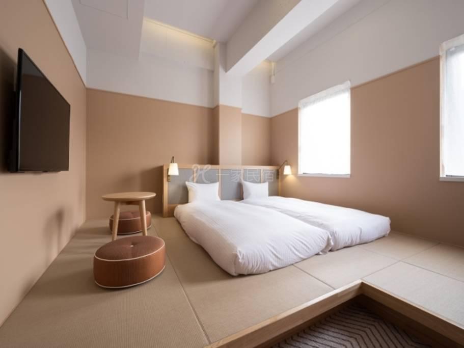 RAKURO京都- THE SHARE酒店-标准3 Standard 3(和室)◆1名利用◆【提前60天前预订】附早餐/早餐是
