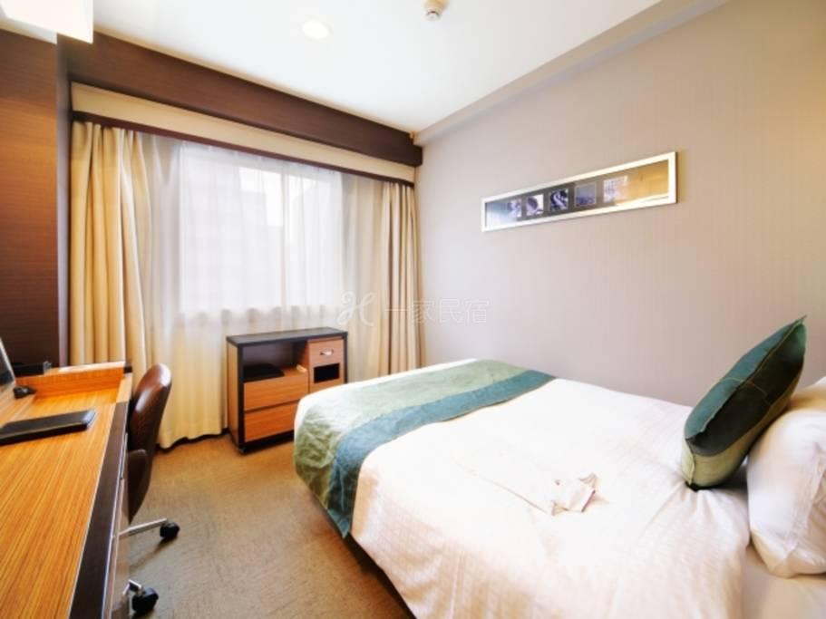 东京四谷WING国际高级酒店标准单人房Standard Single【早鸟45】45天前早鸟预约优惠