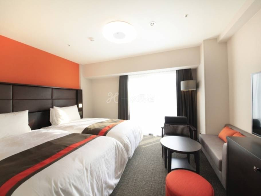 Richmond Hotel Namba 大国町标准双床房禁烟Standard Twin Room 单次用【早鸟28】附早餐方