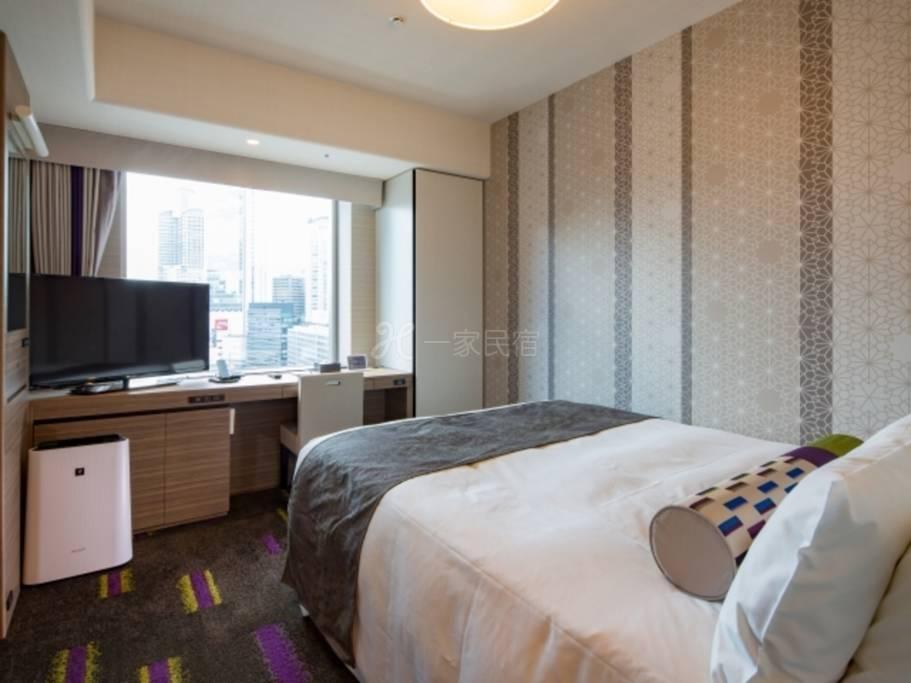 拉・弗里尔大阪蒙特利饭店大床房Double Room(单人用)【早鸟60】60天前提早预约享优惠! <附早餐>
