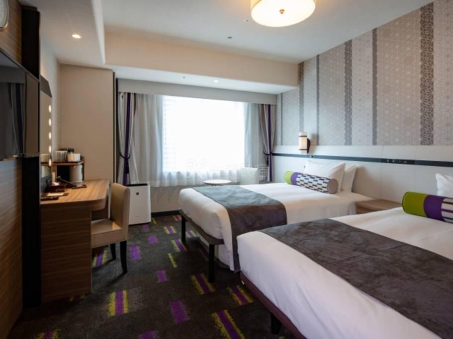 拉・弗里尔大阪蒙特利饭店双床房Twin Room(单人用)标准方案<附早餐>