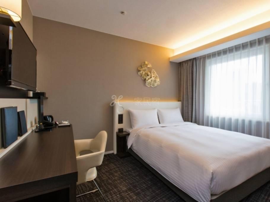 Premier Hotel CABIN 大阪豪华单人房Deluxe Single【近畿优惠旅】<好评的附早餐方案>春季优惠距大