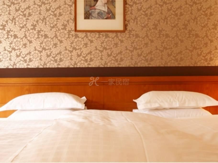 奈良飯店新館好萊塢雙床房/ 吸煙Hollywood Twin【附可選擇的早餐】Bed & Breakfast