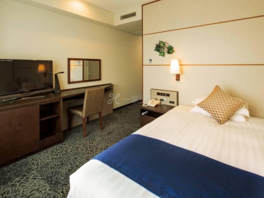 普樂美雅飯店 中島公園 札幌標準單人房Standard Single純住宿無附餐方案