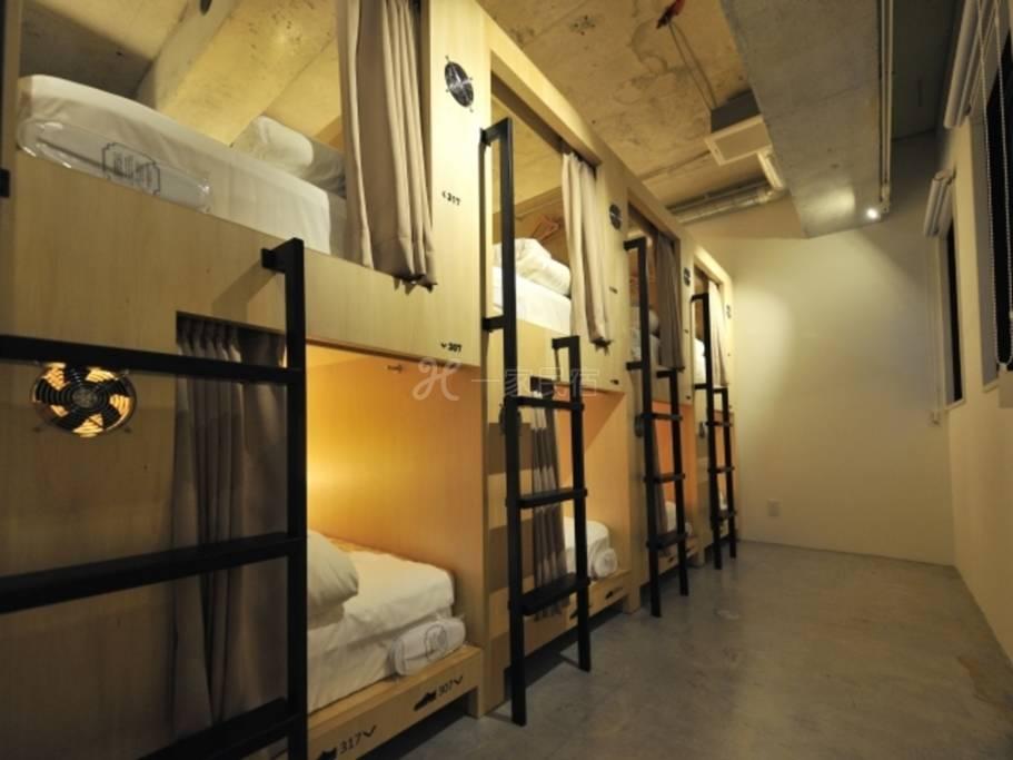 CATALYST ART HOTEL女性专用宿舍房【学生方案!附早餐】学生请参考此方案!心斋桥中的安静地区