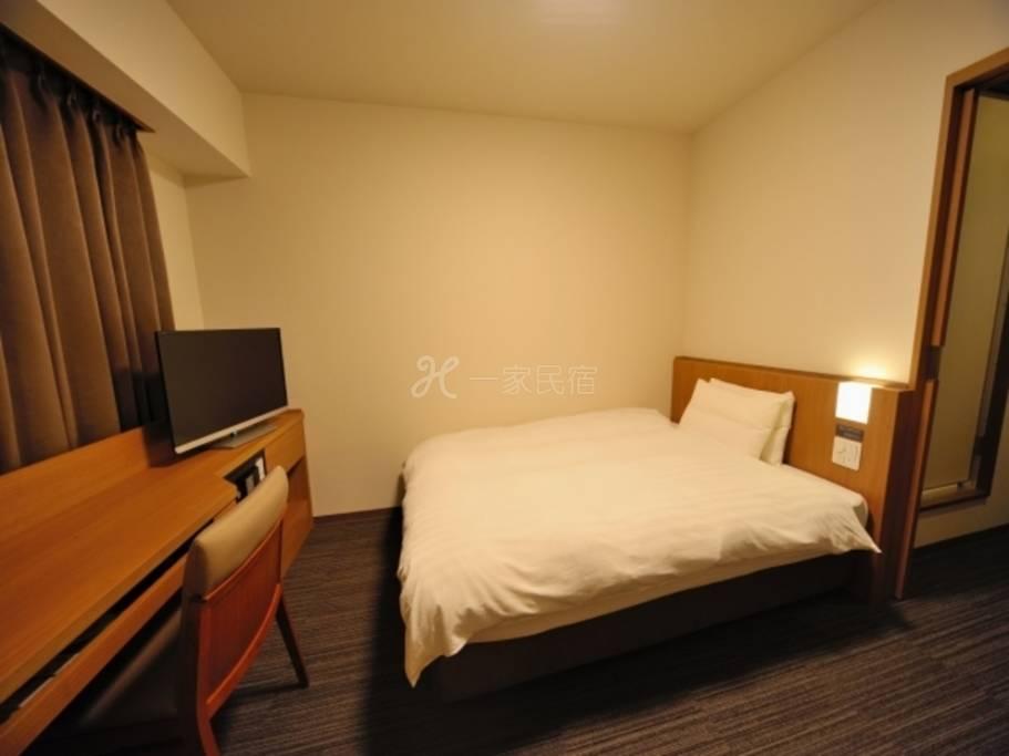 多美迎EXPRESS目黑青叶台大床房Double Room 18平米【单纯住宿】在中目黑享受疗愈的简单住宿