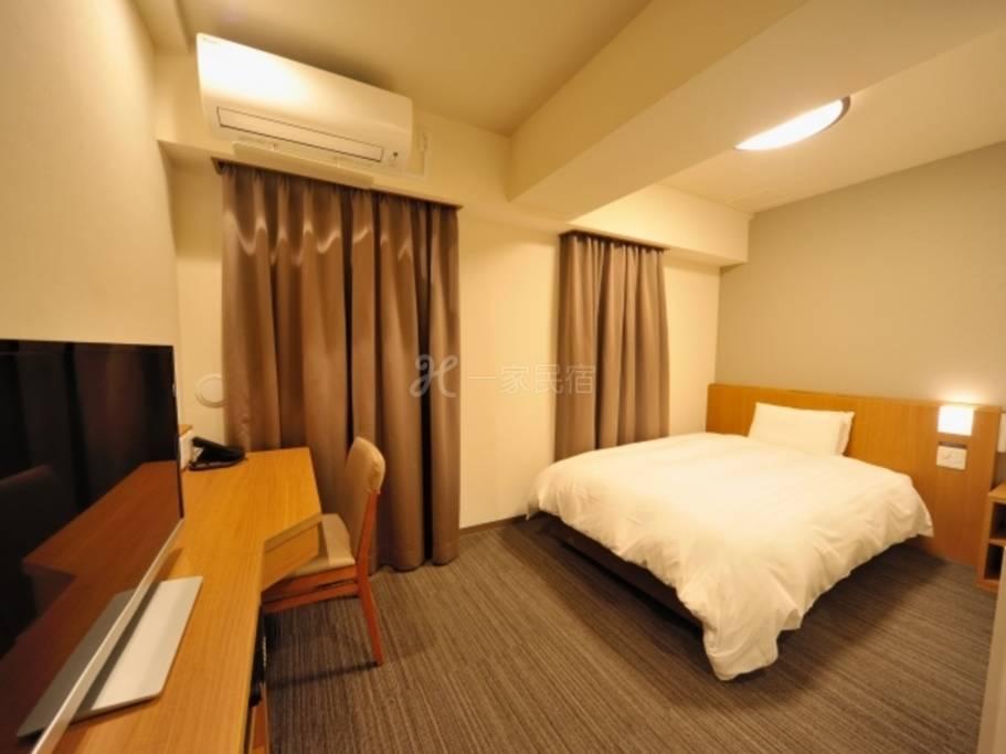 多美迎EXPRESS目黑青叶台单人房Single Room 18平米【单纯住宿】在中目黑享受疗愈的简单住宿