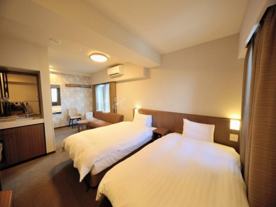 多美迎EXPRESS目黑青叶台豪华双床房Deluxe Twin 18平米【单纯住宿】在中目黑享受疗愈的简单住宿