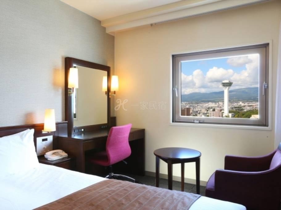 函館法華俱樂部酒店單人房Single簡單住宿方案(不附餐點)