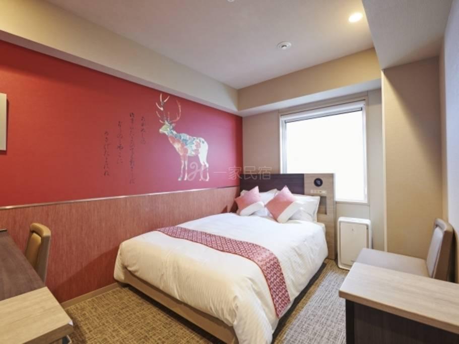 DAIWA ROYAL HOTEL D-PREMIUM NARA标准大床房Standard Double简单方案【纯住宿】<用
