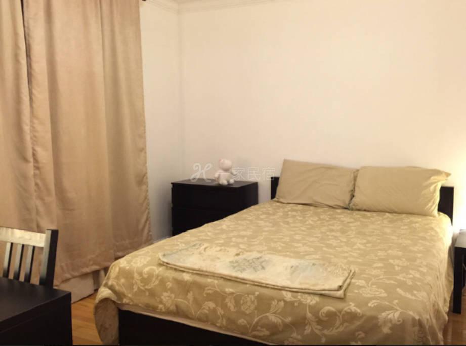 温暖茹家-多伦多北约克温馨大床房