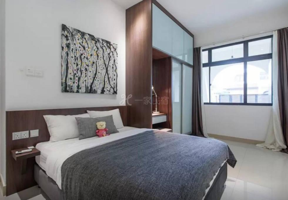 新加坡 沿海豪华别墅 2号房 豪华双人套房
