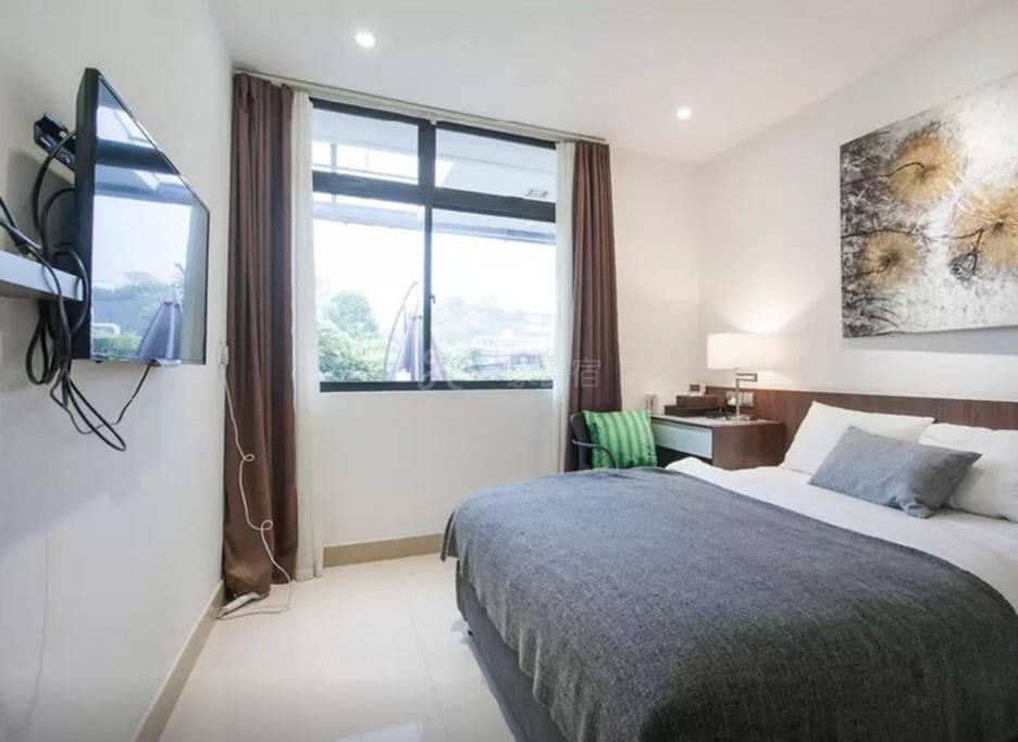 新加坡沿海豪华别墅 3号房 超大双人套房 独卫