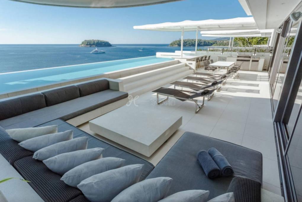 泰国460平方米五卧室阁楼别墅