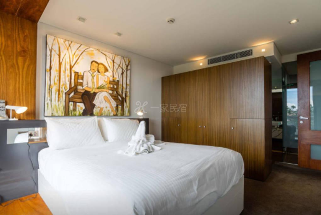 悉尼豪華4臥公寓靠近海港大橋