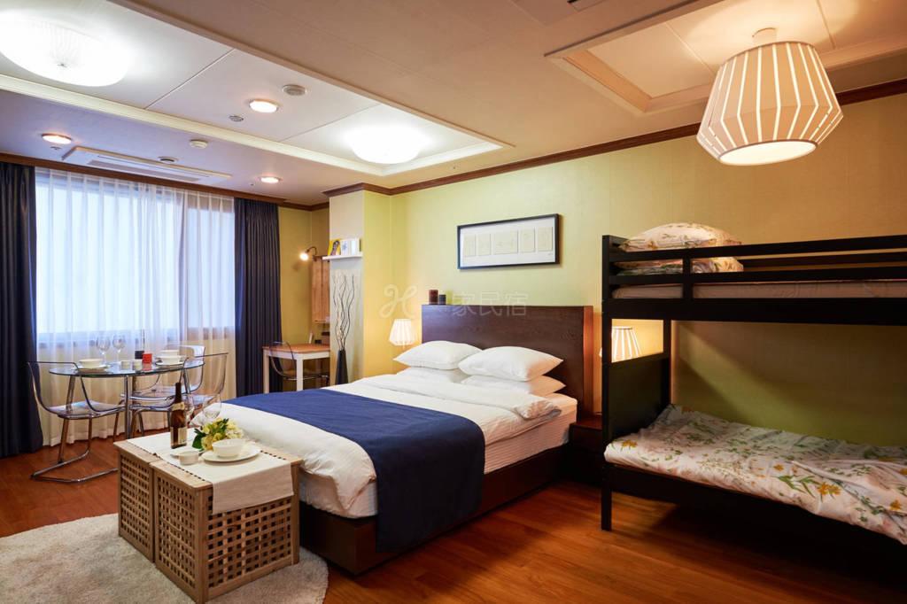 韩国首尔专业设计师设计套房B  可住四人