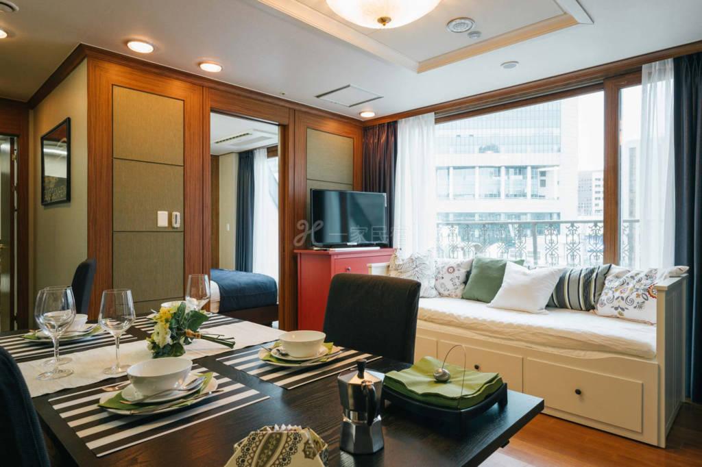 韩国首尔专业设计师设计的套房C   可住四人