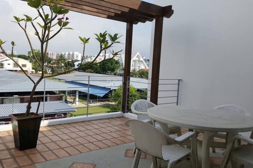 新加坡 温馨家庭双床间