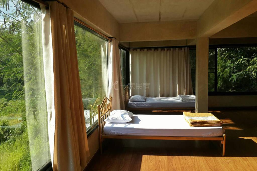 禅堂的宿舍 环境清幽 风景秀丽 是您修身养性的良好去处