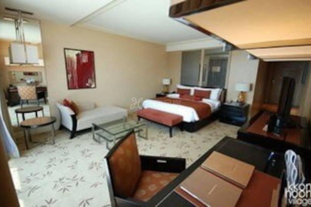 滨海湾金沙酒店。