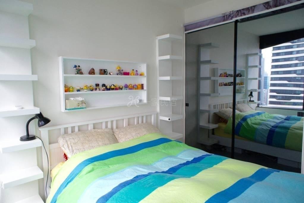 41层公寓景观独立房间近女王市场