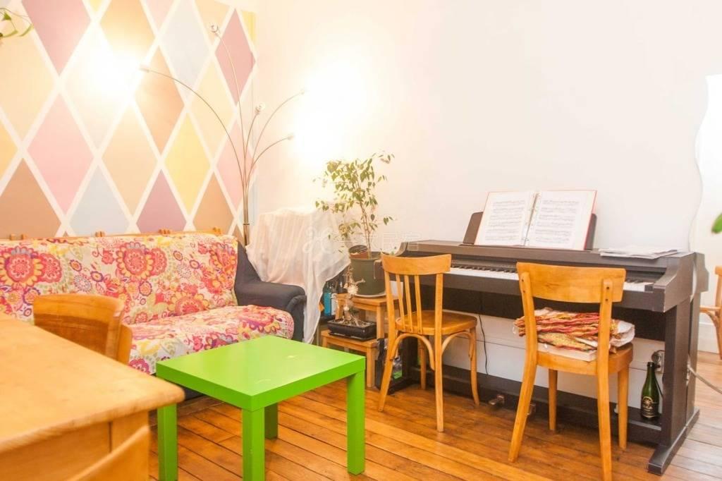 (沙发床)可爱的2室公寓