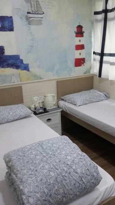 独立卫浴双床房4