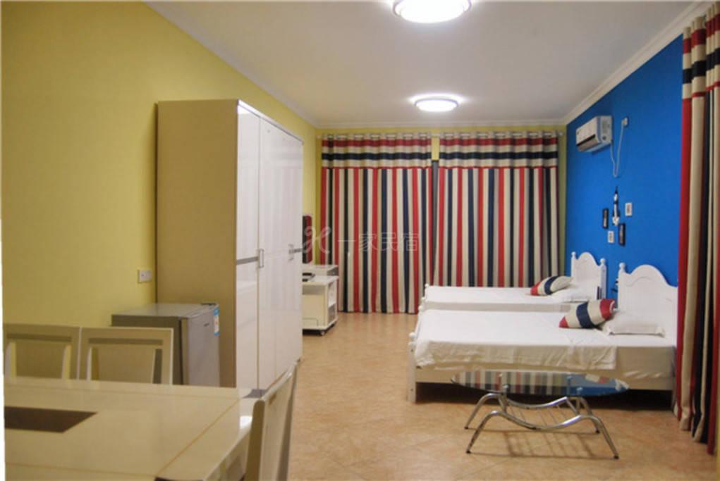一线海景2105房