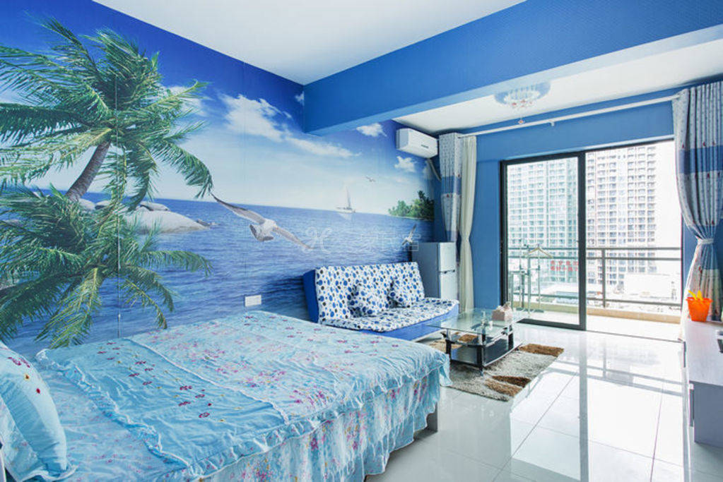 麗灣海景藍色格調夢幻房