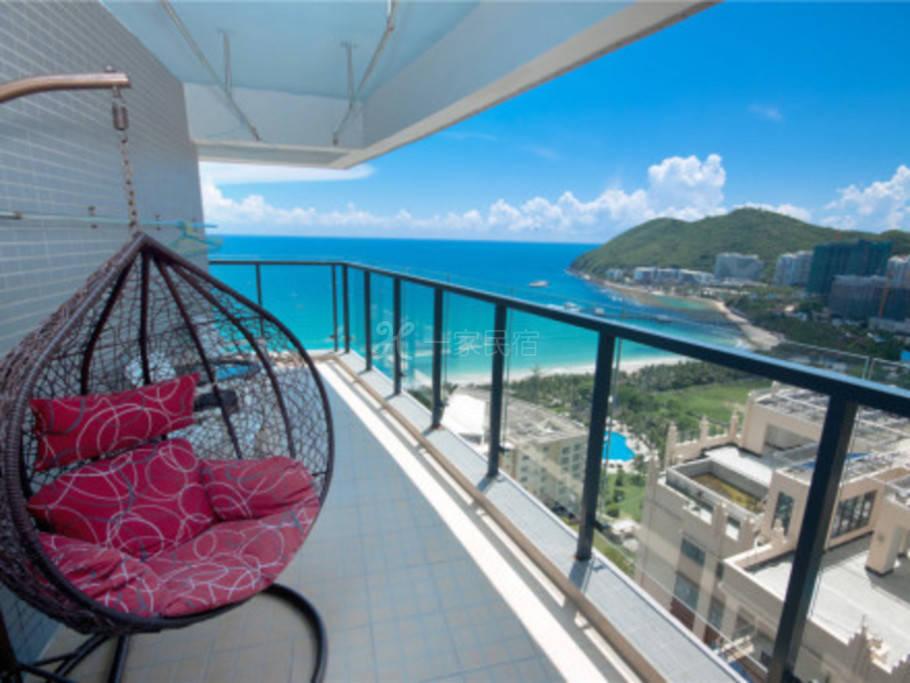 VIP超大阳台海景大床房