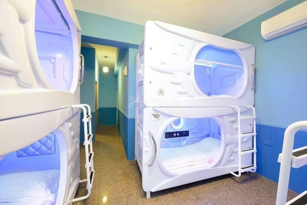 近花莲车站,女性太空舱床位,隐私100%