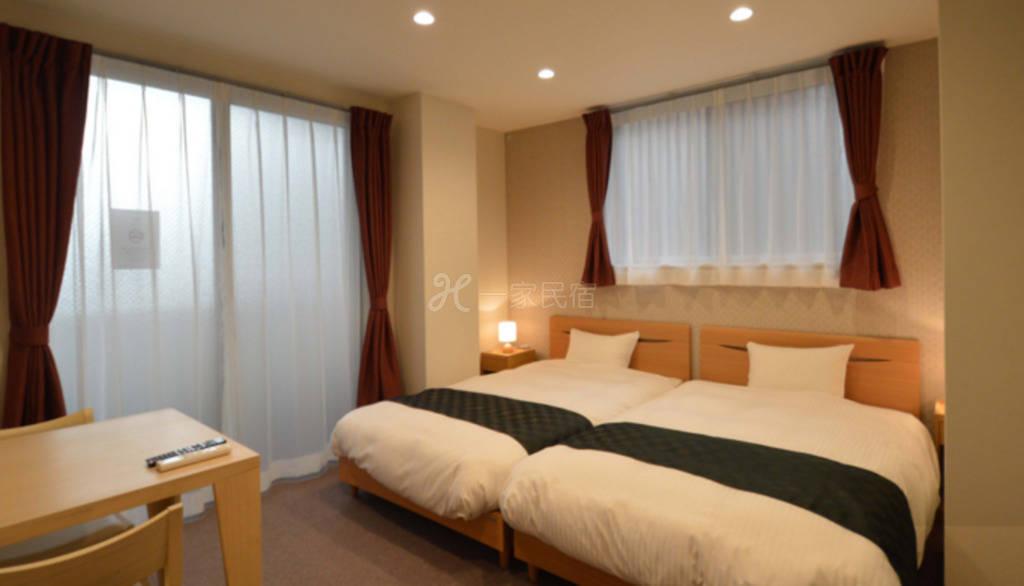 京都七条大桥旅馆  双人房