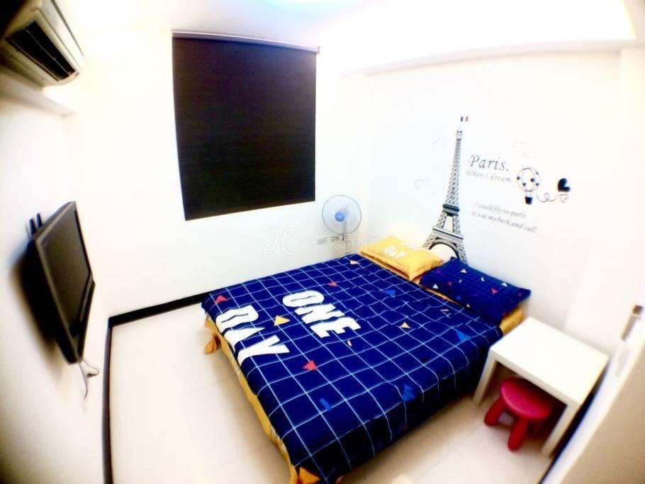 一楼雅房 离捷运站走路4.5分鐘 舒适2人房 台北 永和 永安捷运 1