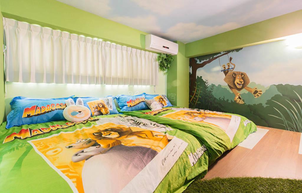马达加斯加亲子八人套房