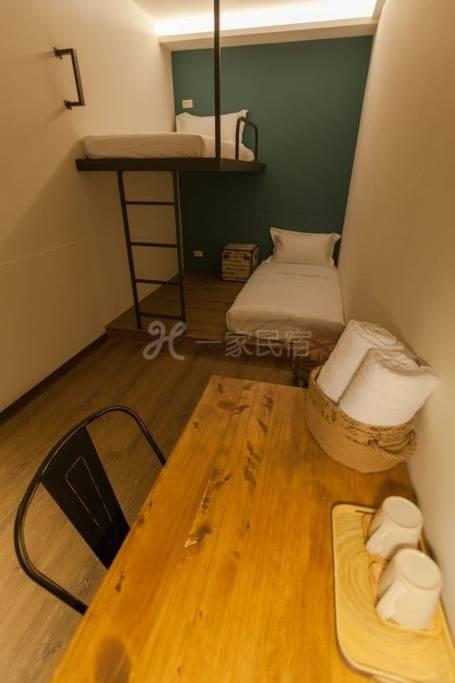 花莲火车站旁小旅行迷你公寓单人房-Single Room