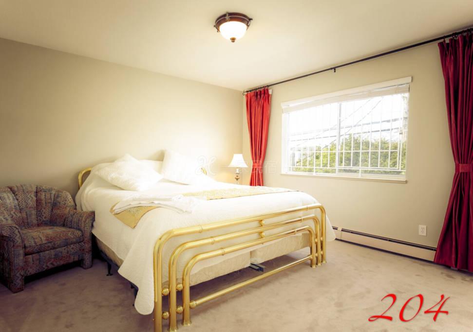 温哥华列治文迦南旅馆204