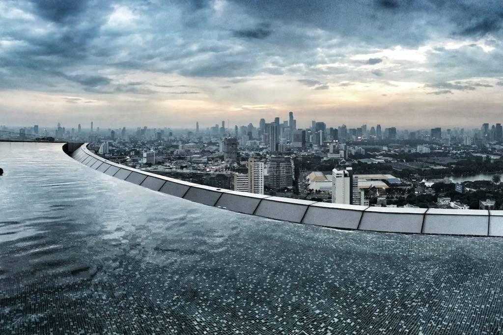 网红泳池*曼谷最高空中无边泳池,素坤懿Thonglor日本区奢华顶级公寓,美式格调,WIFI,BTS