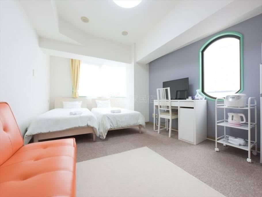 机场便利蒲田站舒适公寓最多入住3人#2