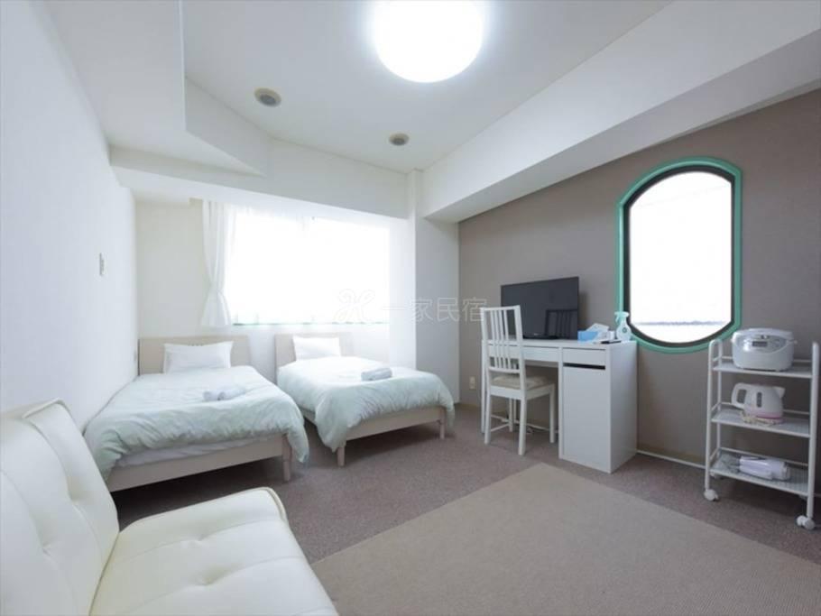 机场便利蒲田站舒适公寓最多入住3人#3